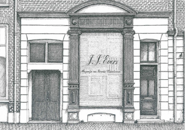 Kerkstraat 12, slagerij Evers