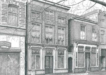 Koningstraat, weduwenhuis