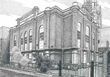 Pastoorstraat, synagoge