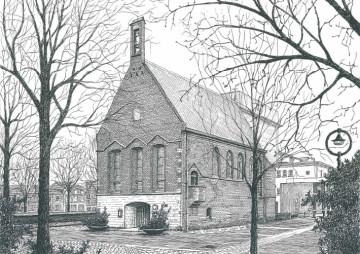 Catharinaplaats, Waalse kerk