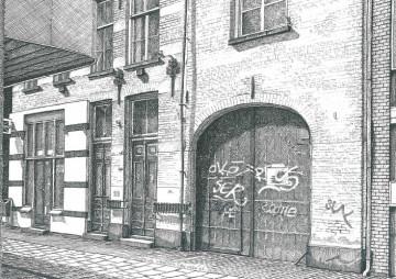 Weverstraat, poort