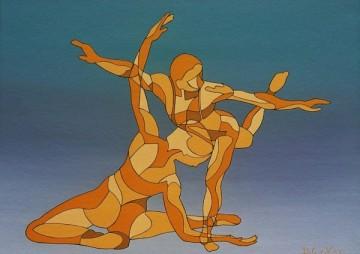 Dansduo vierkant