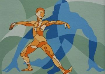 Danssolo diagonaal