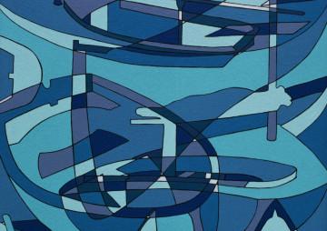Bootvormen-blauw