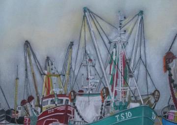 Terschelling: Vissersboten