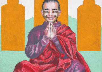 Jonge Boeddhistische Monnik