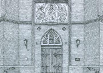 Afl.61 De Sint-Martinuskerk Steenstraat