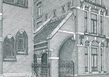 Afl.36 Evangelisch Lutherse Kerk Spoorwegstraat